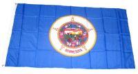 Fahne / Flagge USA - Minnesota 90 x 150 cm
