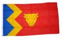Fahne / Flagge England - Birmingham 90 x 150 cm