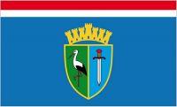 Fahne / Flagge Kroatien - Sisak - Moslavina 90 x 150 cm