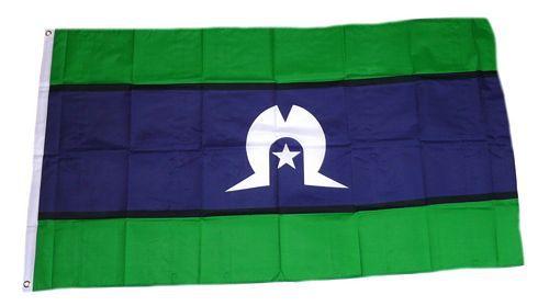 Flagge / Fahne Torres Strait Insulaner Hissflagge 90 x 150 cm