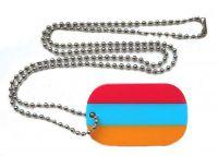 Dog Tag Fahne Armenien