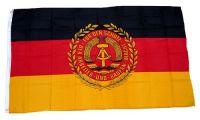 Fahne / Flagge DDR - NVA Truppenfahne 90 x 150 cm