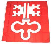Fahne / Flagge Schweiz - Nidwalden 120 x 120 cm
