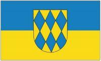 Fahne / Flagge Gutenberg bei Bad Kreuznach 90 x 150 cm