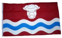 Fahne / Flagge England - Herefordshire new 90 x 150 cm