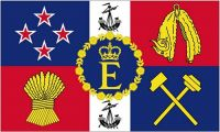 Fahne / Flagge Neuseeland Royal 90 x 150 cm