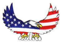 Aufnäher Patch USA Adler