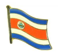 Flaggen Pin Fahne Costa Rica Pins Anstecknadel Flagge