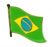 Flaggen Pin Fahne Brasilien Pins Anstecknadel Flagge