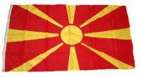 Flagge / Fahne Mazedonien Hissflagge 90 x 150 cm