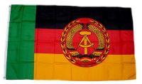 Fahne / Flagge DDR - Elbe & Oder Truppen 90 x 150 cm