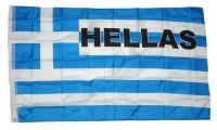 Fahne / Flagge Griechenland Schrift NEU 90 x 150 cm