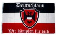 Fahne / Flagge Deutschland Wir kämpfen für dich Deutsches Reich 90 x 150 cm