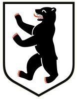 Wappenschild Aufkleber Sticker Berlin