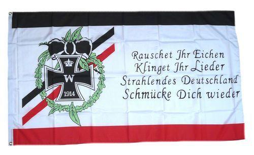 Fahne / Flagge Rauschet Ihr Eichen 150 x 250 cm