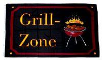 Fahne / Flagge Grill Zone 90 x 150 cm