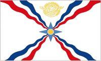 Fahne / Flagge Assyrien 90 x 150 cm