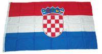 Flagge / Fahne Kroatien Hissflagge 90 x 150 cm