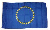 Flagge / Fahne Europa 27 Sterne Hissflagge 90 x 150 cm