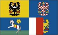 Fahne / Flagge Tschechien - Mährisch Schlesien 90 x 150 cm