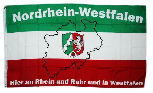 Ruhrpott Fahne ca 90 x 150 cm
