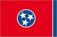 Fahnen Aufkleber Sticker USA - Tennessee