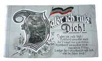 Fahne / Flagge Vater ich rufe Dich Kaiserreich 90 x 150 cm