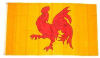 Fahne / Flagge Belgien - Wallonien 90 x 150 cm
