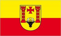 Fahne / Flagge Malchin 90 x 150 cm
