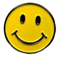 Pin Smile Smily Anstecker NEU Anstecknadel
