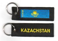 Fahnen Schlüsselanhänger Kasachstan