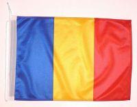Bootsflagge Rumänien 30 x 45 cm