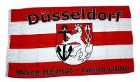 Fahne / Flagge Fußball Düsseldorf 90 x 150 cm
