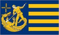 Fahne / Flagge Sankt Michaelisdonn 90 x 150 cm