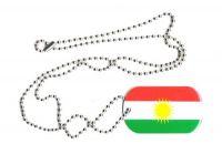 Dog Tag Fahne Kurdistan